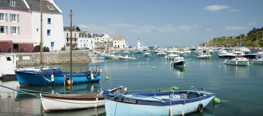 Belle Ile - Boats in Harbour